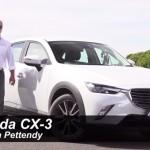 [動画]マツダ新型CX-3の試乗レビュー(ただし英語)