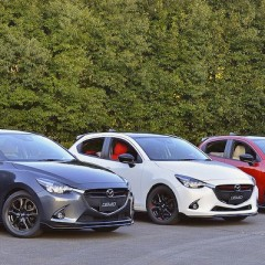 MAZDA デミオ Color コンセプト Red/Tan/White 2015