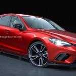 Mazda6 MPSモデルの予想CGが公開されています