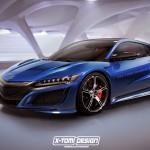 ホンダ(アキュラ)新型NSX Type-Rの予想CGが公開されています