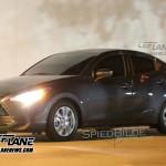 [ニューヨークモーターショー2015]新型Mazda2セダンベースのScion iAの画像が流出