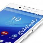 ソニーの新型フラッグシップスマートフォン、Xperia Z4のプレスイメージがリークされる?