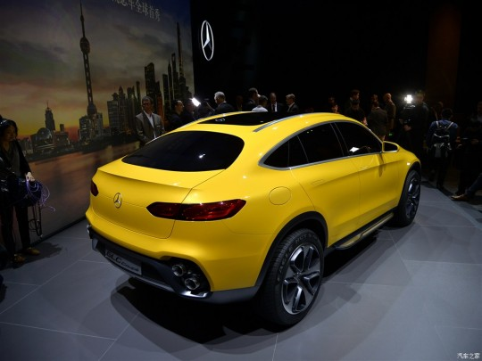 Mercedes-Concept-GLC-Coupe-rear-three-quarter-in-Shanghai