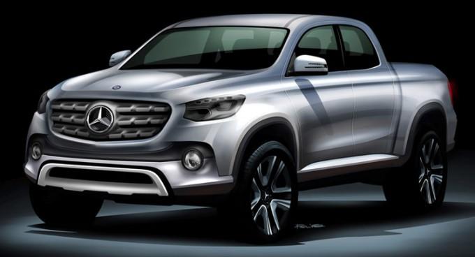 Mercedes-pickup