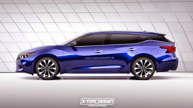 Nissan Maxima Cars 2016 >> 日産新型マキシマ、今度はワゴンにしてみたら、という予想CG | T's MEDIA