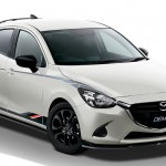マツダ、グラスルーツ・モータースポーツのベース車両となる「デミオ モータースポーツ コンセプト」を公開