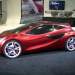 2018 Mazda3をイメージしたコンセプトカー。ただし、8年前の話