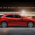 近日中に2016年型Mazda3の登場か?