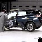 日産新型ムラーノがIIHSの衝突試験でトップセーフティピック+を獲得