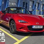 マツダ新型MX-5がAuto Expressが企画する「Roadster of the Year 2015」を獲得
