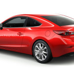 魂動デザインには2ドアクーペがよく似合う、Mazda3クーペの予想CG