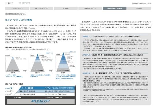 アニュアルレポート2015-ビルディングブロック戦略