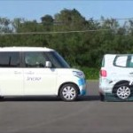 [動画]50km/hでも止まる!スズキ「デュアルカメラブレーキサポート」の試験動画