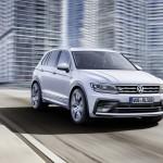 [IAA 2015]VW、新型ティグアンの画像を公開