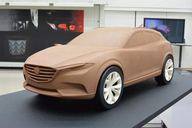 mazda-clay-model