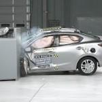 Scion iA(別名Mazda2)がIIHSの衝突試験でトップセーフティピック+を獲得