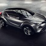 トヨタのコンパクトクロスオーバーC-HRの量産型は「オーリス クロス」と名乗りジュネーブでデビュー?