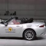 三連敗!マツダ新型MX-5がユーロNCAPの衝突試験で4つ星の評価