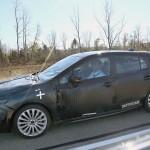 スバル次期インプレッサのセダンを含むテスト車両の新たな写真