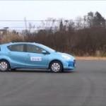 [動画]40km/hまでならOK!トヨタ アクアの衝突被害軽減ブレーキ試験