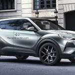 トヨタ新型CH-Rの予想CGが公開されています