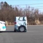 [動画]トヨタ新型ノアの被害軽減ブレーキ試験。満点でASV+の評価