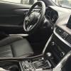 マツダ新型CX-4の黒内装の写真