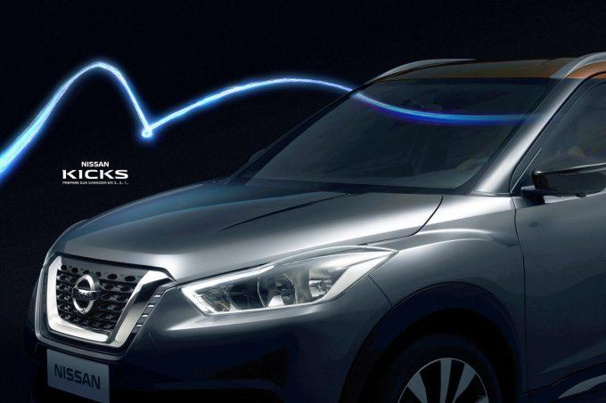 Nissan-Kicks-compact-SUVs-front-fascia-revealed