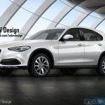 アルファロメオ新型SUV ステルビオの予想CGが公開されています公開されています