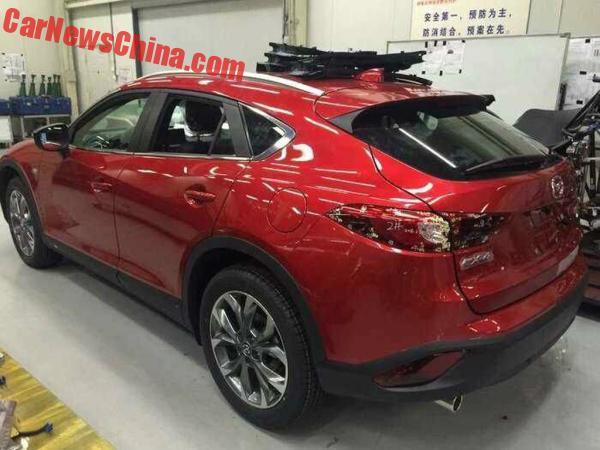 mazda-cx4-red-china-8