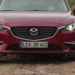 [動画]ドイツマツダ、Mazda6をグラベルで走らせる