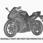 スズキ新型GSX-R250のパテント画像
