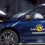[動画]スバル、レヴォーグがユーロNCAPで5つ星を獲得と発表