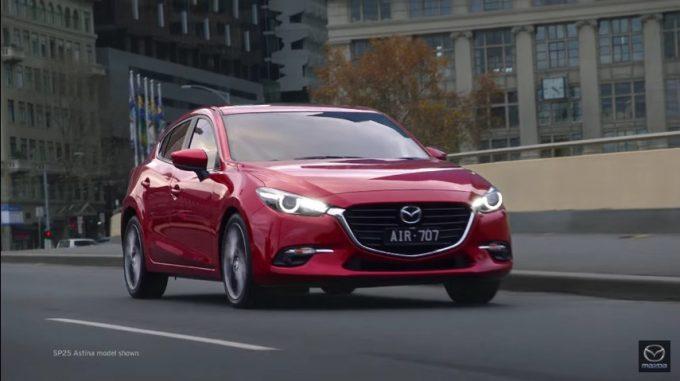 オーストラリア仕様Mazda3
