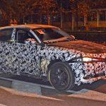 アルファロメオ新型SUVステルビオのテスト車両の写真(2)