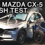 [動画]マツダ新型CX-5、NHTSAによる衝突試験で四つ星の評価