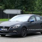 SKYACTIV-Xをテスト!Mazda3のテスト車両が目撃される(更新)