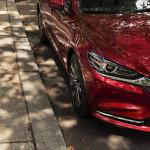 [LAS 2017]マツダ、新型Mazda6の発表を予告!フロントマスクをちら見せ!!