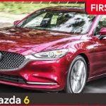 [動画]新型Mazda6が颯爽と走る
