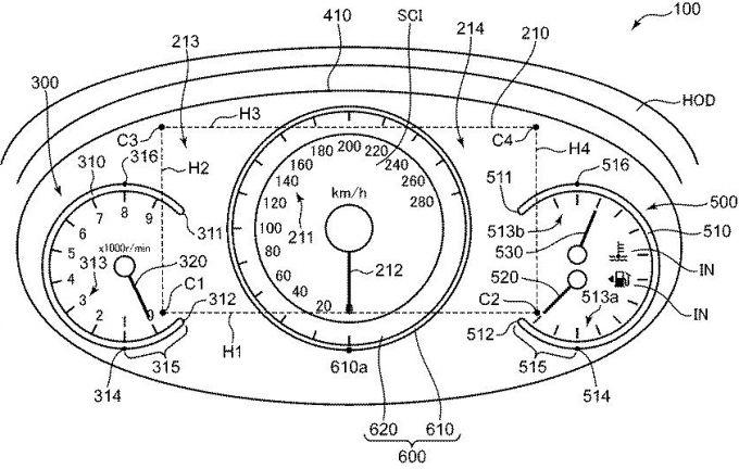 特許6350446 車両の表示装置