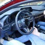 次期アクセラ(2019 Mazda3)のテスト車両から少し #2-インテリア