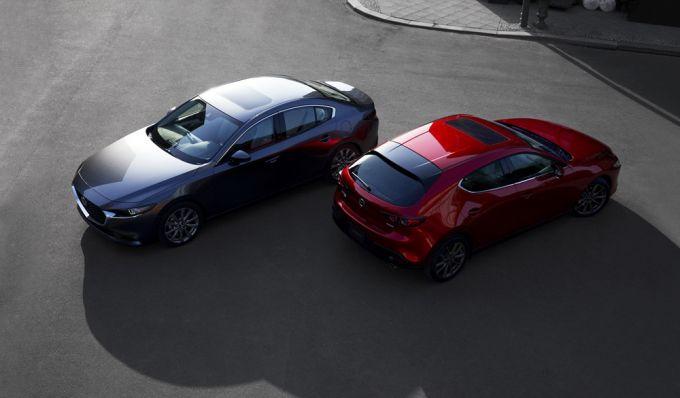 北米マツダ、2019 Mazda3の警告灯不具合でリコール