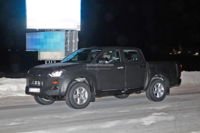 2020 isuzu d-max pickup truck
