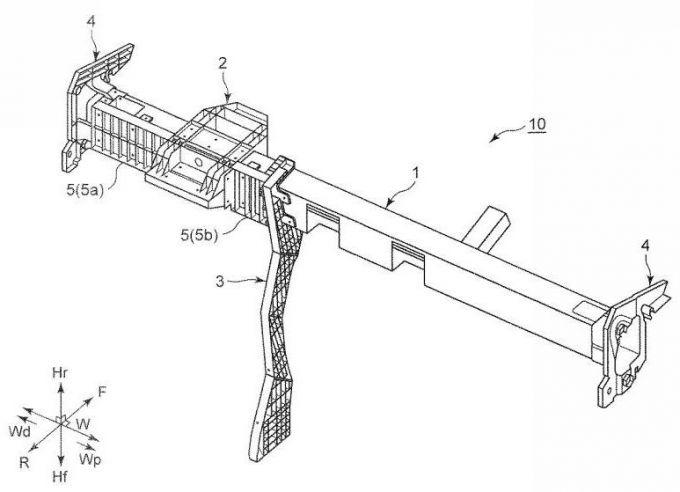 特許:マツダ、ステアリング支持構造体に関する特許を出願