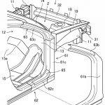 [特許]マツダ、スモールオーバーラップ衝突時に有効な車体構造に関する特許を取得