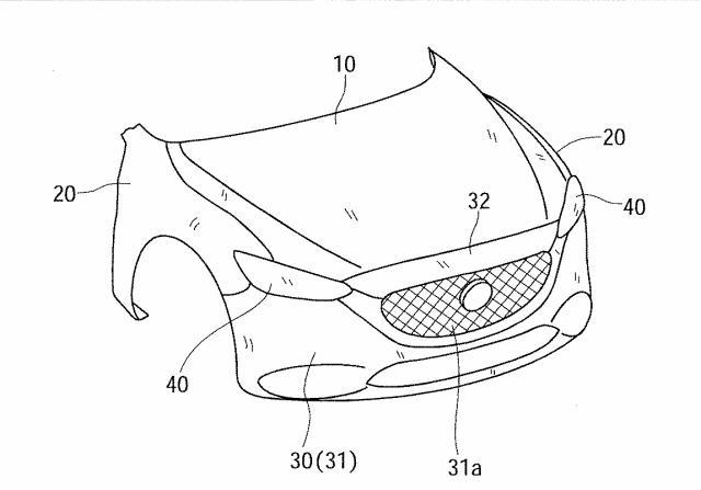 マツダ、斜め衝突を考慮した車体構造に関する特許を出願