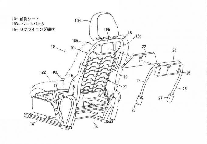 [特許]マツダ、後席用エアバッグの特許を取得