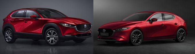 マツダCX-30、Mazda3の2020年商品改良の概要