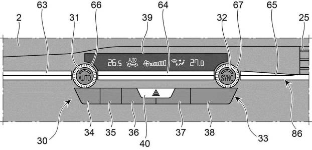 マツダ、ステアリングとインパネ装飾に関して特許を取得