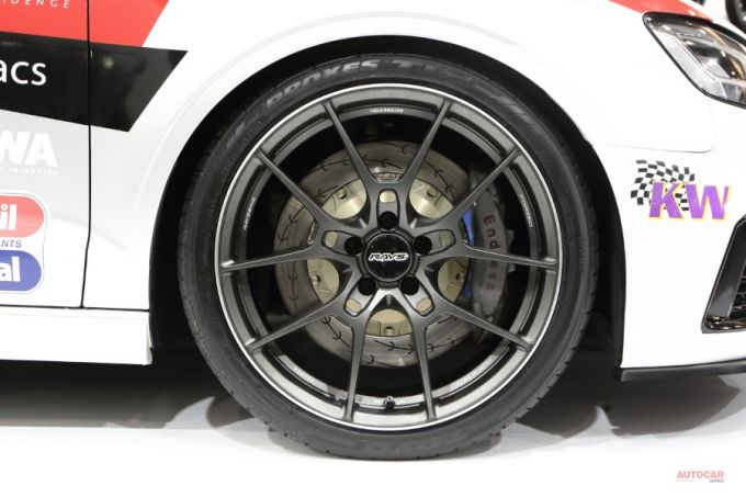 Mazda RT24-PのホイールとRAYS VOLK RACING G025とそっくり